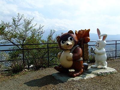 カチカチ山ロープウェイ@富士山ツーリング